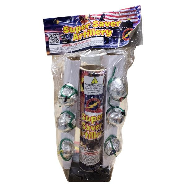 Super Saver Artillery Shells by Flashing Fireworks