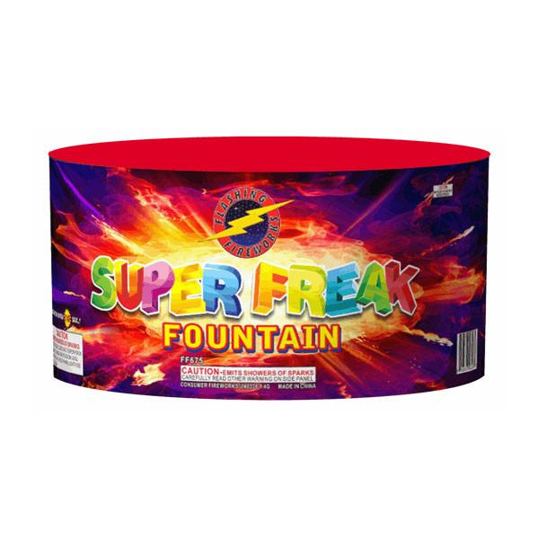 Super Freak Fountain by Flashing Fireworks