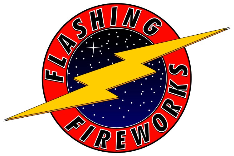 Flashing Fireworks