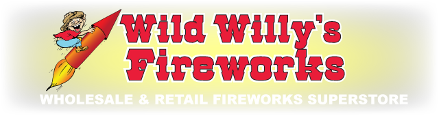 Wild Willy's Fireworks is a family owned retail and wholesale fireworks company located in Nebraska. We offer high quality fireworks imported direct from China.