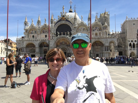 Claire's trip to Venice with Jim, June 2017