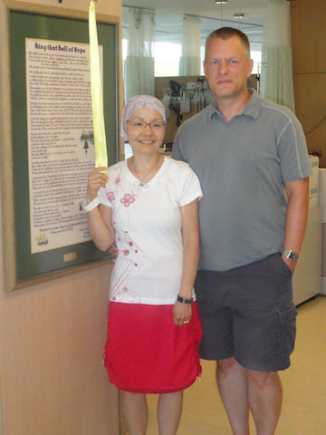 Ringing the Bell of Hope, Final Chemotherapy Treatment