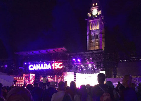 Celebrating Canada 150 on Parliament Hill