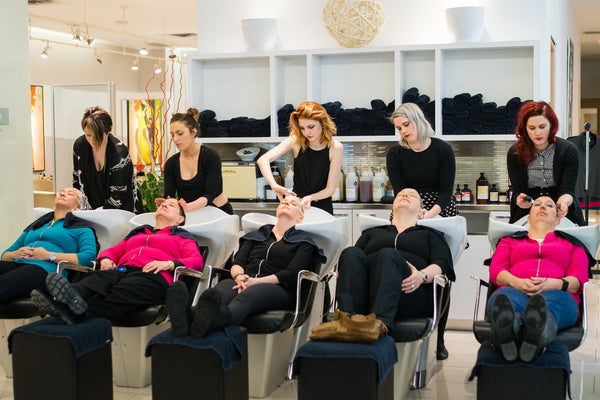 """Forget for a Moment"" Makeover for Breast Cancer Champions"