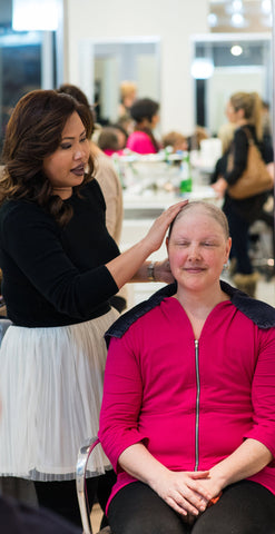 Forget for a Moment Makeover Event for Breast Cancer Champions