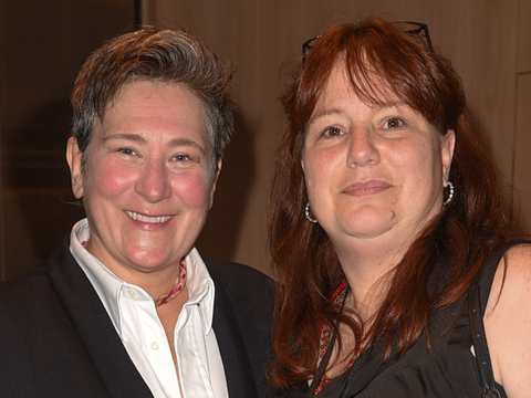 Cindy with k.d. lang