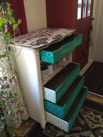 Dresser being up cycled