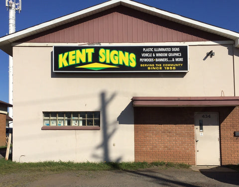 Our family owned business, Kent Sign Co