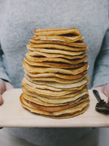 A Stack of Pancakes by Brigitte Tohm