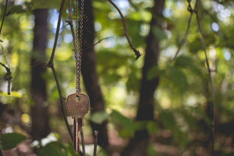 Keying hanging in a tree, Photo by Katy Belcher on Unsplash