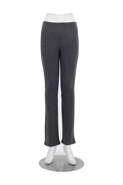 Jenn Bamboo Pant in Charcoal, front view