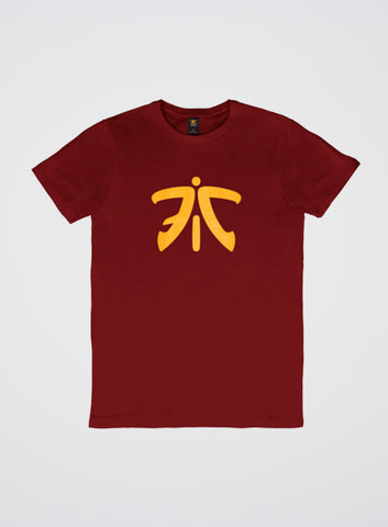 Fnatic Ess Logo T-Shirt Dark Red