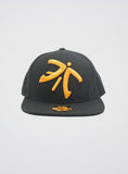Fnatic Snapback Cap Orange Logo - Black Brim