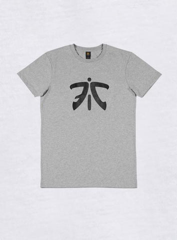 Fnatic Ess Logo T-shirt Light Grey