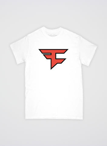 Faze Clan Logo T-shirt White
