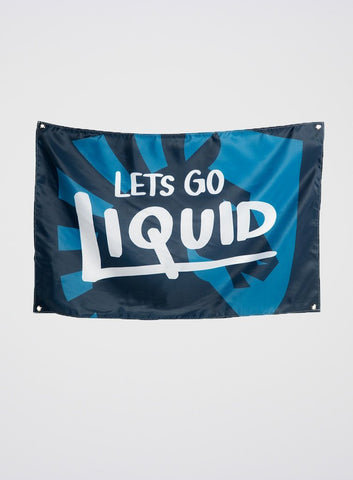 Team Liquid Let's Go Liquid Flag