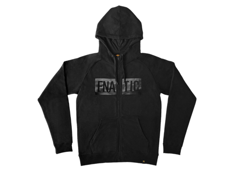 Fnatic Black Line Collection Zipped Hoodie