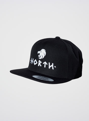 North Logo Snapback Black
