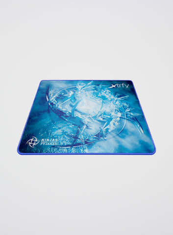 Ninjas in Pyjamas Xtrfy XTP1 Mousepad Large - Ice