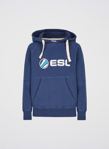 ESL Classic Junior Hoodie Navy Blue