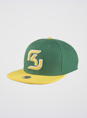 SK Gaming Snapback Yellow-Green