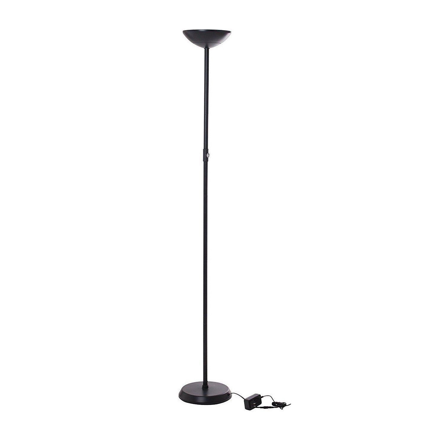 brightech store  sky lite led torchiere floor lamp – watt  - brightech store  sky lite led torchiere floor lamp – watt ultrabrightpowersaver with builtin dimmer – black color