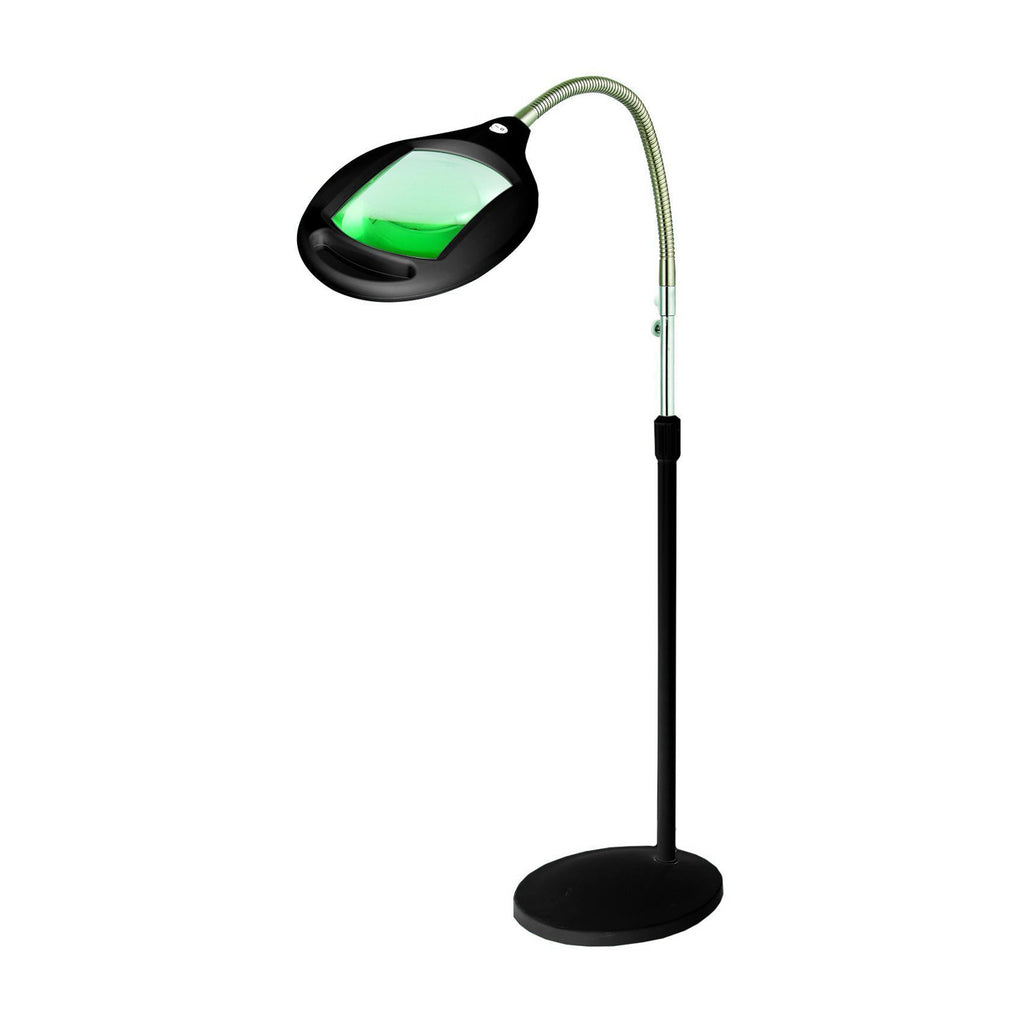 Brightech store lightview pro superbright magnifier for Led magnifier floor lamp reading