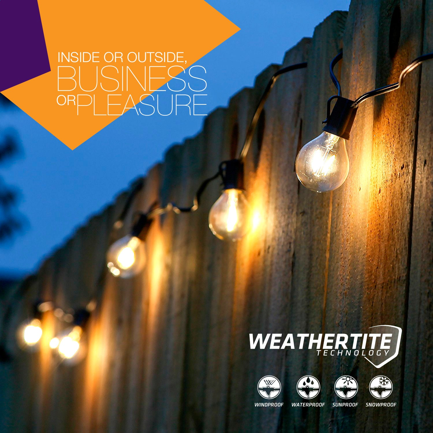 Brightech Store | Brightech – Ambience PRO LED String Lights with ...