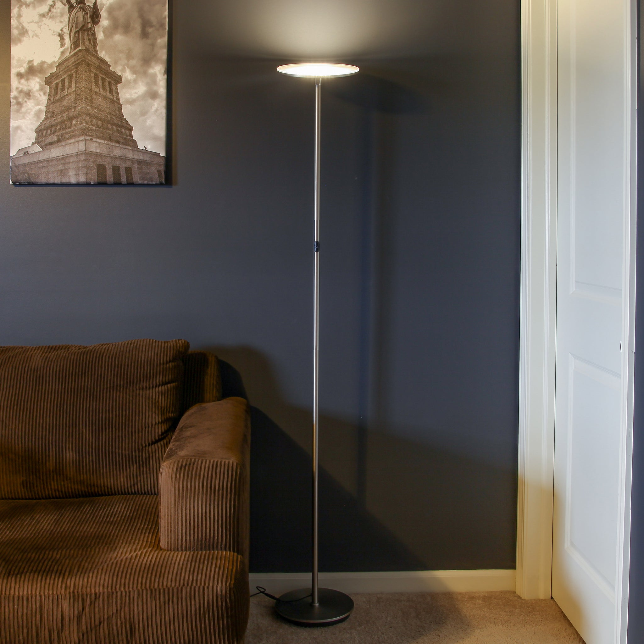 Brightech Store | SKY LED Torchiere Floor Lamp – Super Bright 30 ...