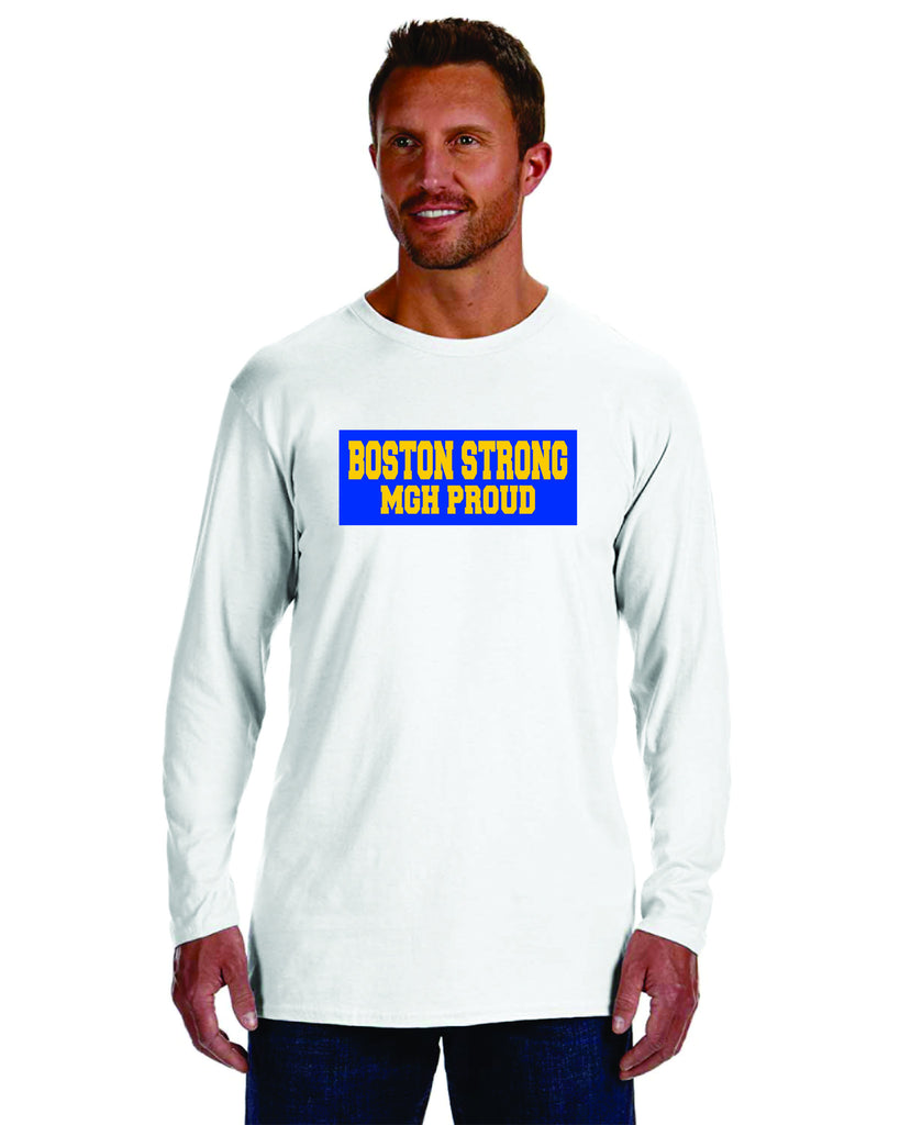 Boston Strong MGH Proud Long Sleeve Tee