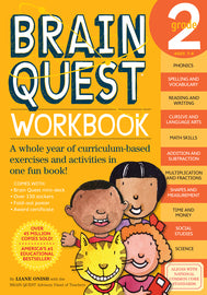 Brainquest Workbook: Grade 2