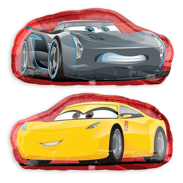 Cars 3™ 2-Sided Jumbo Balloon