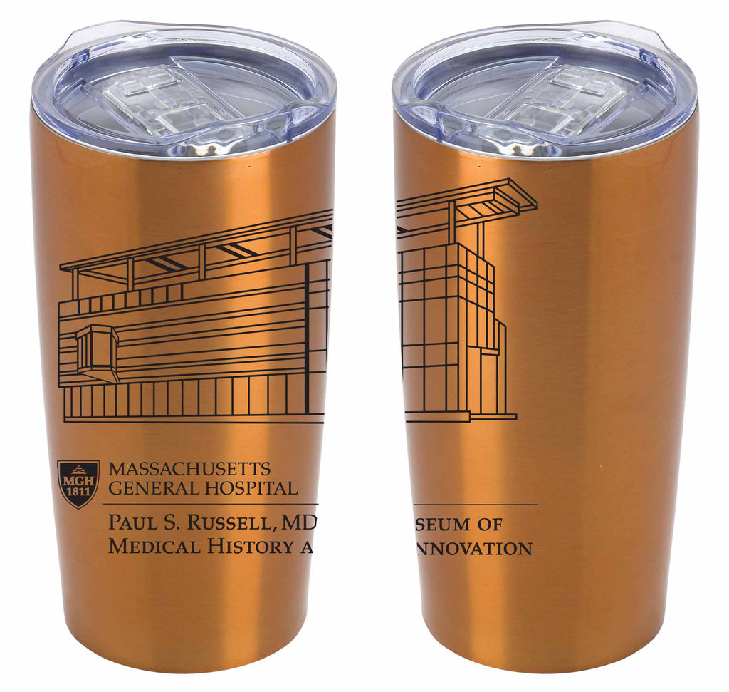 Travel Mug: Paul S. Russell, MD Museum of Medical History and Innovation