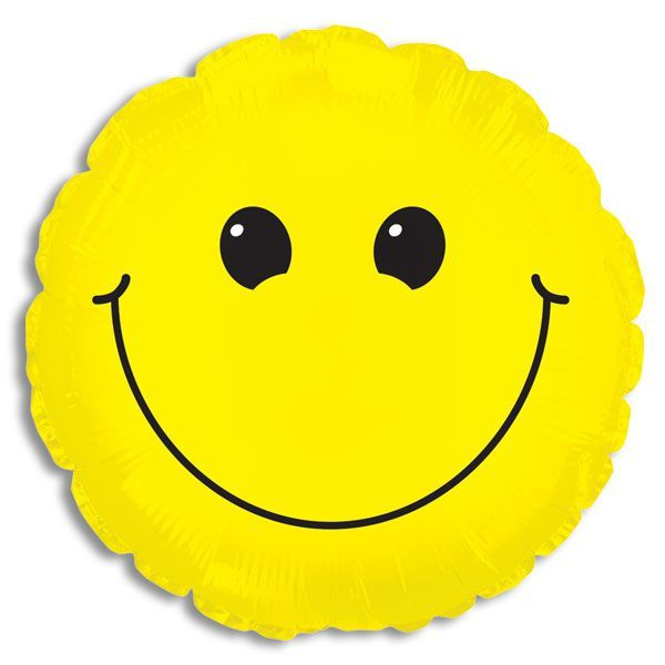 "Smiley Face 33"" Jumbo Balloon"