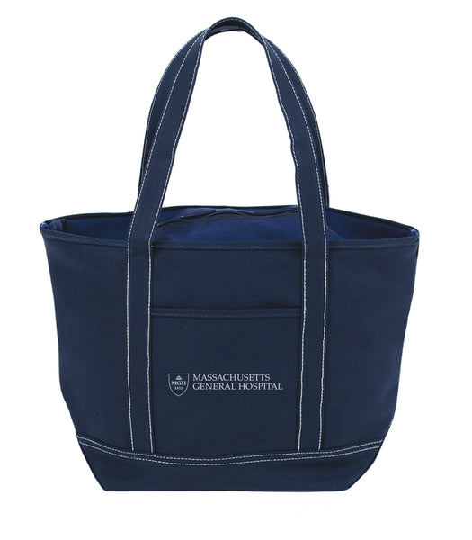 MGH Canvas Zip Tote