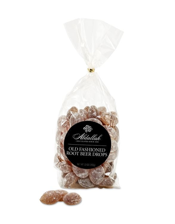Sanded Root Beer Bag Wrapped 10oz Abdallah Candies