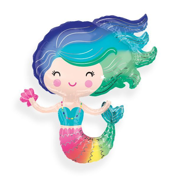 Mermaid Jumbo Balloon