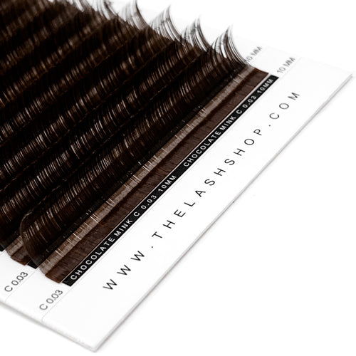 Chocolate Mink Lashes 0.03mm