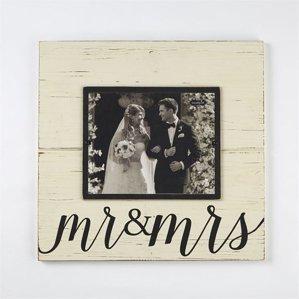 """Mr. & Mrs."" Frame"