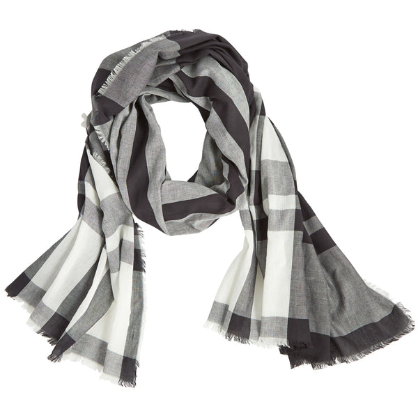 Mercer Plaid Scarf (3 Colors Available)