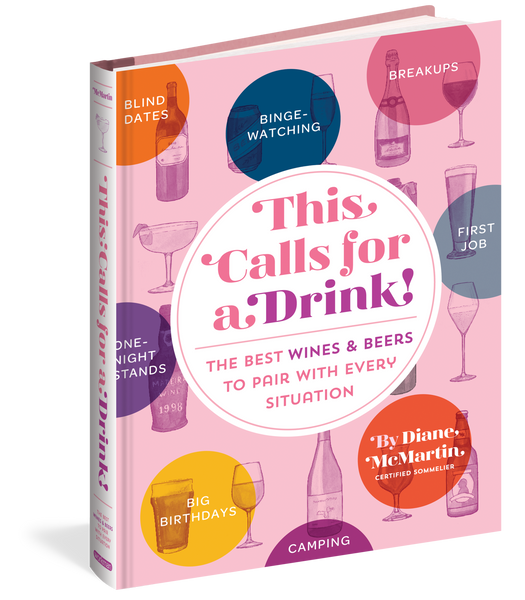 """This Calls for A Drink"" Book"