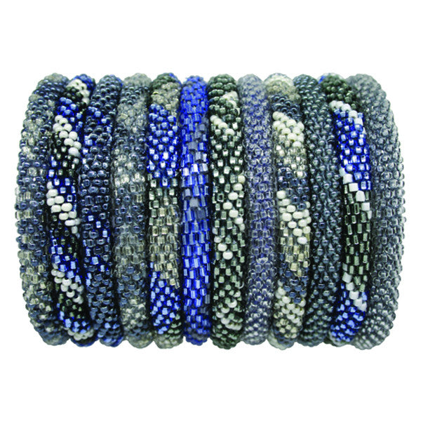 Roll-On Bracelet in Denim