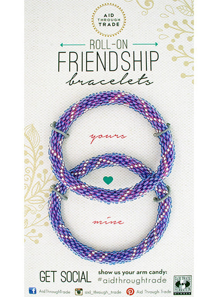 ROLL-ON® FRIENDSHIP BRACELETS INDIGO MOON