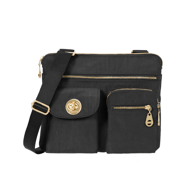 Baggallini Sydney Crossbody with Gold Hardware (Available in 4 colors)