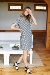 Emerson T Dress - Gingham