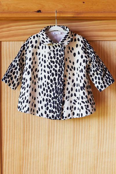 Small Fry Swing Coat - Leopard