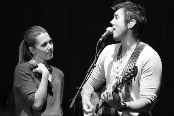 Colbie Calliat & Justin Young