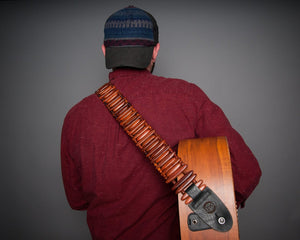 Revo Bullet - Handcrafted Wooden Guitar Strap