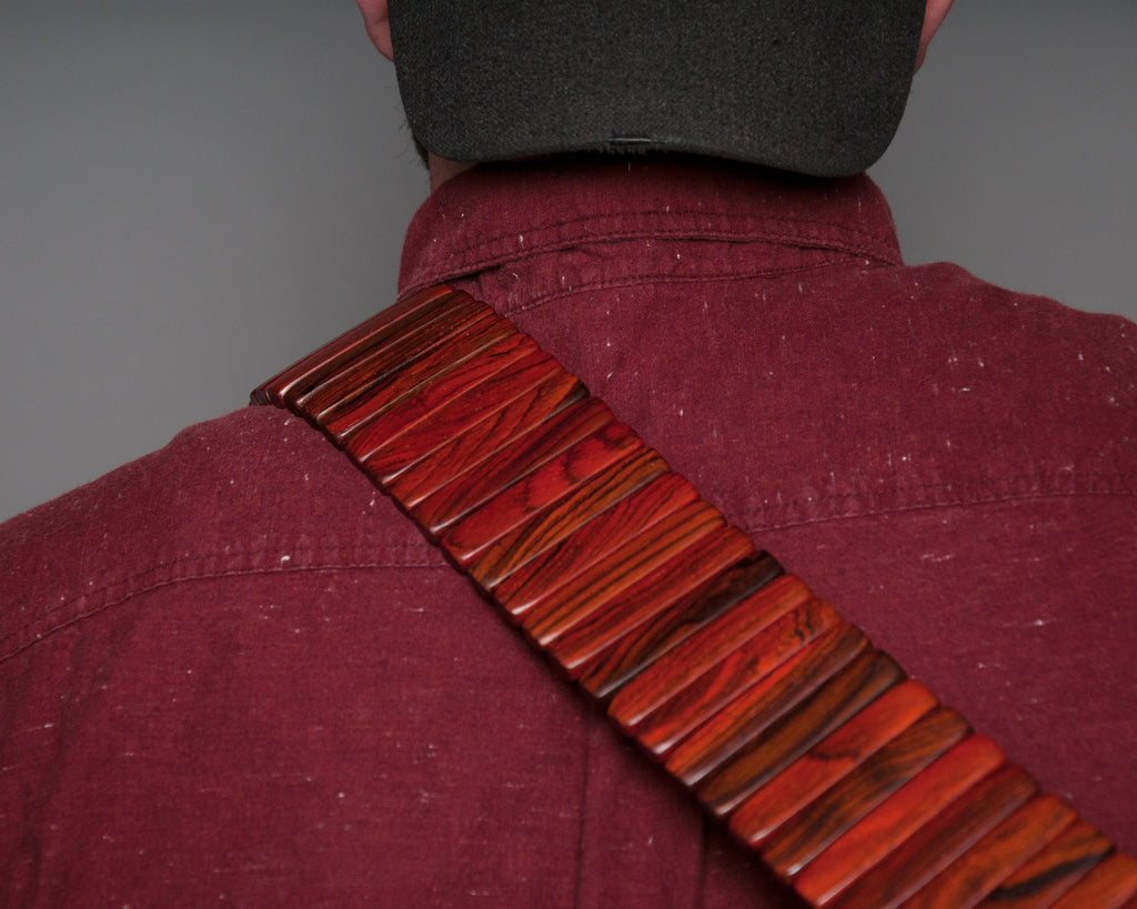 Rosewood Solano Style Guitar Strap