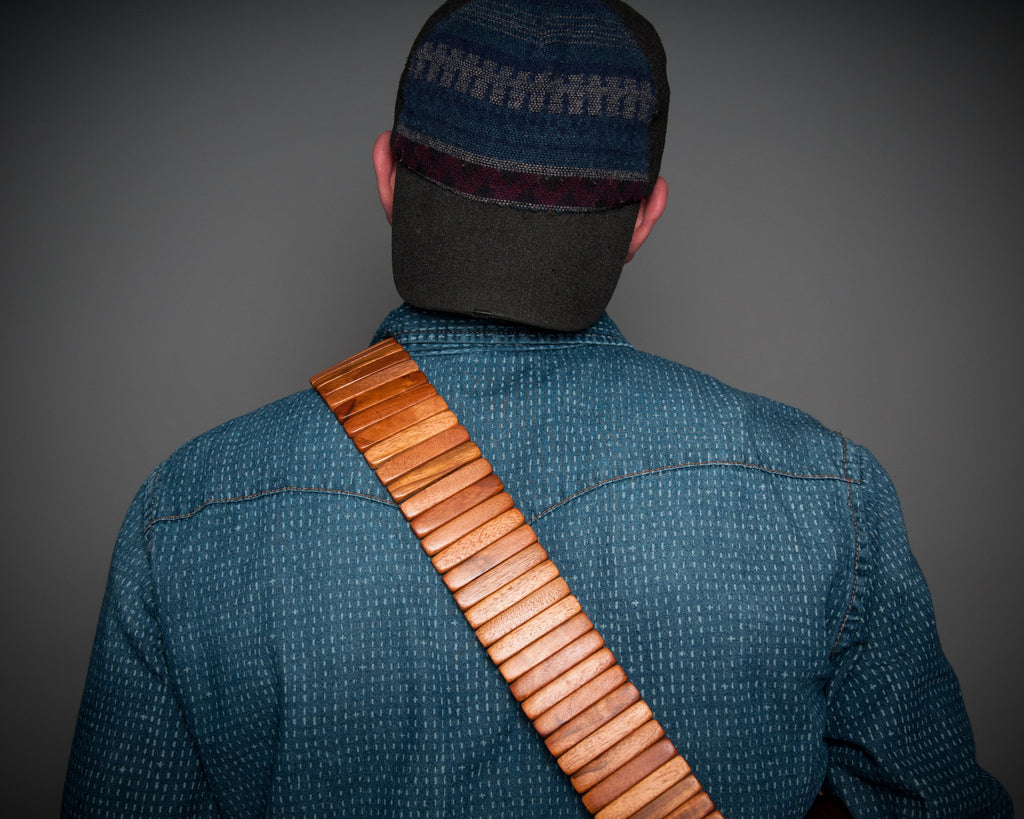 TIgerwood Solano Style Guitar Strap